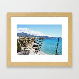 COSTA DEL SOL Framed Art Print