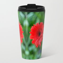 Gerbera Daisy In The Jar Travel Mug