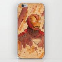 metal iPhone & iPod Skins featuring Metal by Sarah J