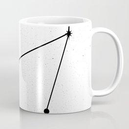 CAPRICORN (WHITE & BLACK) Coffee Mug