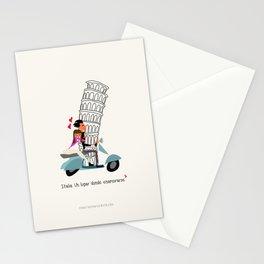 Italia, un lugar donde enamorarse Stationery Cards