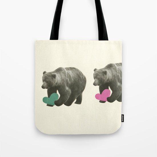 A Bear Romance Tote Bag