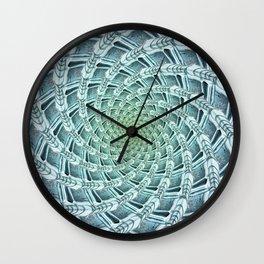 Phyllotactic Ice Wall Clock