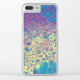 Fluid Color Clear iPhone Case