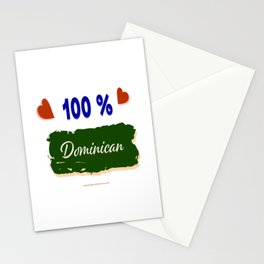 100 % Dominican Stationery Cards