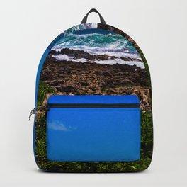 Mist Out Of Rocks Backpack