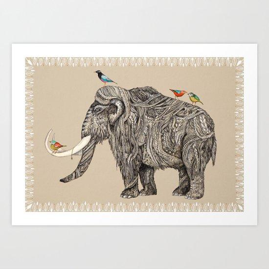 TUSK Art Print