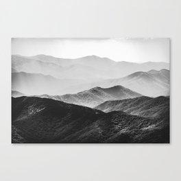 Smoky Mountain Canvas Print