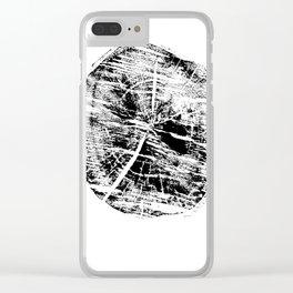 fragment birch Clear iPhone Case
