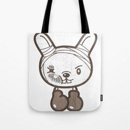 Boxing Bunny Tote Bag