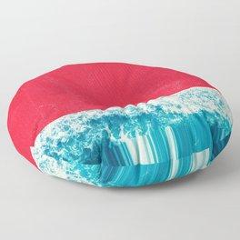 Red Tide Floor Pillow