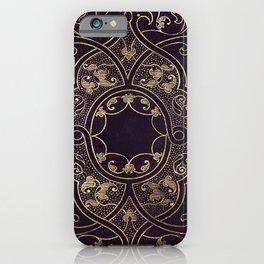 Gold Ornate 1 iPhone Case