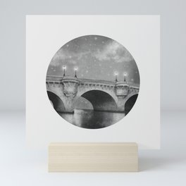 Bridge Over Calm Waters Mini Art Print