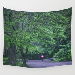 Forest Rain Wall Tapestry