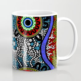 Aboriginal Art – Camping Coffee Mug