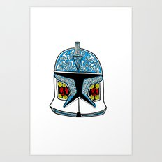 celtic clone trooper Art Print