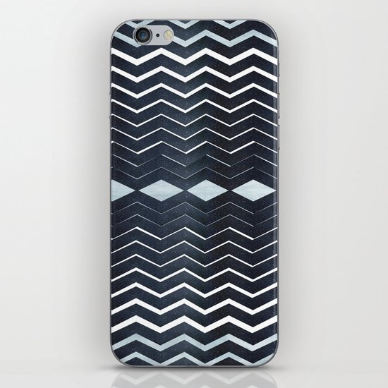 ELEGANT IN BLUE iPhone & iPod Skin