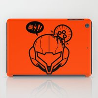 samus iPad Cases featuring Samus by La Manette