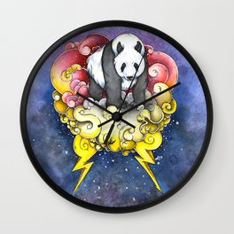 Thunder Panda Wall Clock