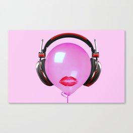 Sound Blur Canvas Print