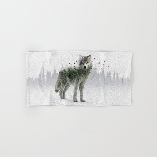 Wild I Shall Stay | Wolf Hand & Bath Towel