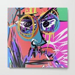 Digital self portrait by Nacho Dung Metal Print