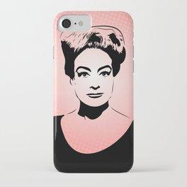Joan Crawford | Hollywood Royalty | Pop Art iPhone Case