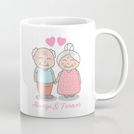I love you. Always & Forever Coffee Mug