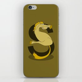 Monogram S Pony iPhone Skin