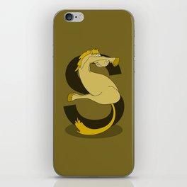 Monogram S Pony iPhone Skin