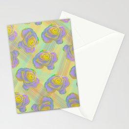 Rose Light Stationery Cards