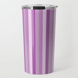 Pink and purple stripes pattern Travel Mug