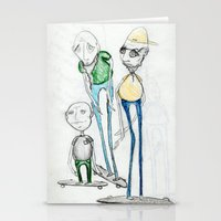 whatever Stationery Cards featuring Whatever by Jill Peterson