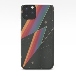 Lightening Bolt, Bowie, Cosmic Art iPhone Case
