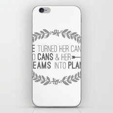 Plans iPhone & iPod Skin