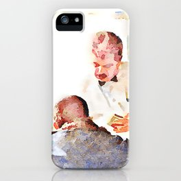 Aleppo: men and room maids iPhone Case