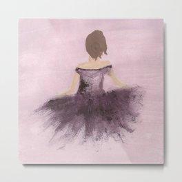 rose ballerina Metal Print