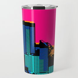 Cityscape Collage 03ZX Travel Mug