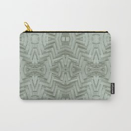 Basket Weave Pattern Carry-All Pouch