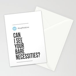 Can I See Your Bare Necessities? (#DisneyPickUpLines) Stationery Cards