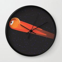 comet glance Wall Clock