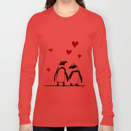 Love Penguins Long Sleeve T-shirt