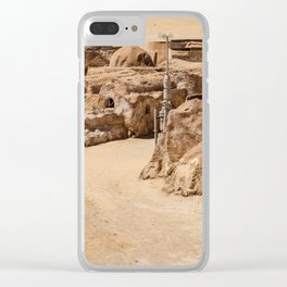 tataouine Tunisia Clear iPhone Case