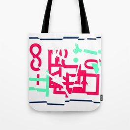 ∫O.□◅Y∞-∏ Tote Bag