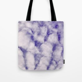 FLUFFY CLOUDS - BLUE SKY Tote Bag