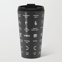Hobo Signs Travel Mug