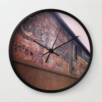 coke Wall Clocks featuring Vintage Coke by Cultivate Bohemia