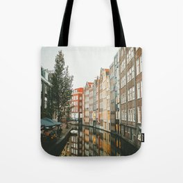 Amsterdam Canals Tote Bag
