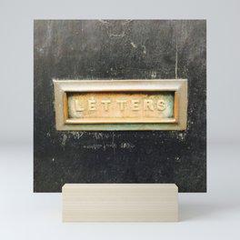 Letterbox Mini Art Print
