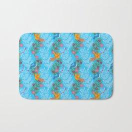 Sweet Lovey Birdies Bath Mat